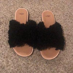 cae082e5fab Like new ugg Joni sheepskin sandal size8.5.